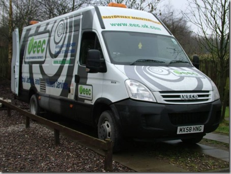 Euro Environmental Contracts' camera inspection van