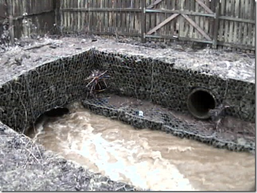 Freuchie Mill culvert @ 3:10pm on 15th March 2011
