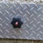 Repaired air brick cover